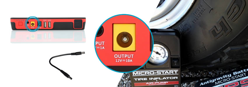 12V Charger, Micro-Start Function