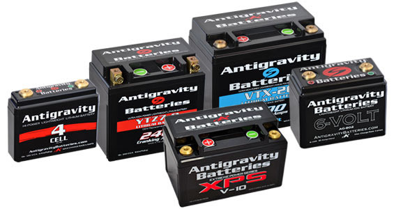 Antigravity Lithium Starter Batteries