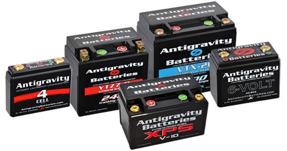 Antigravity Lithium Starter Batteries