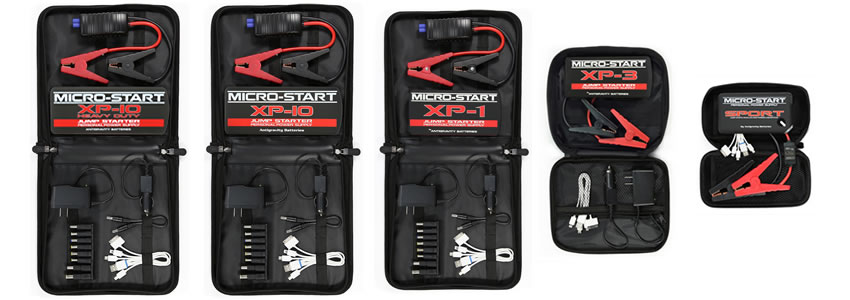 Complete Micro-Start Portable Power Kits