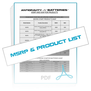 Download Reseller MSRP, Antigravity Products List