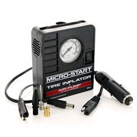 Tire Inflator Air Pump. Micro-Start Accessory