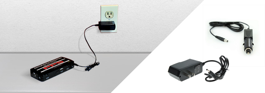 Wall Charger & Mobile Charger, Micro-Start Cables